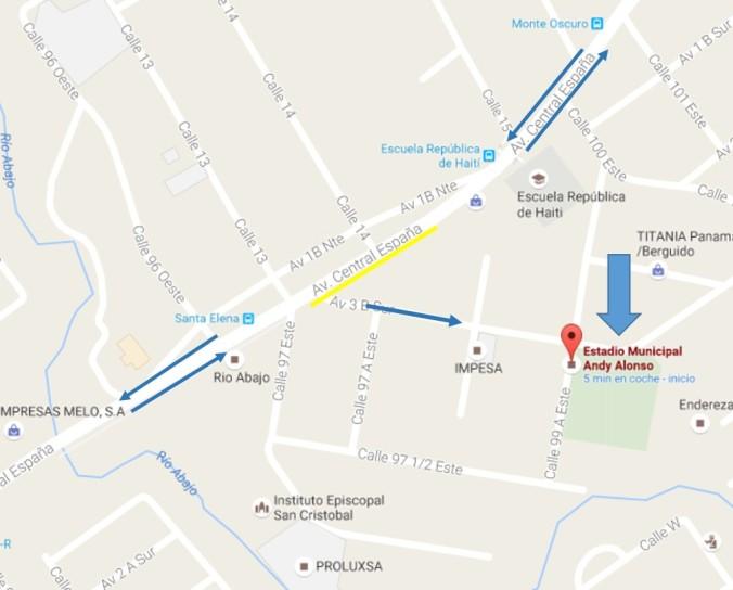 Mapa Andy Alonso